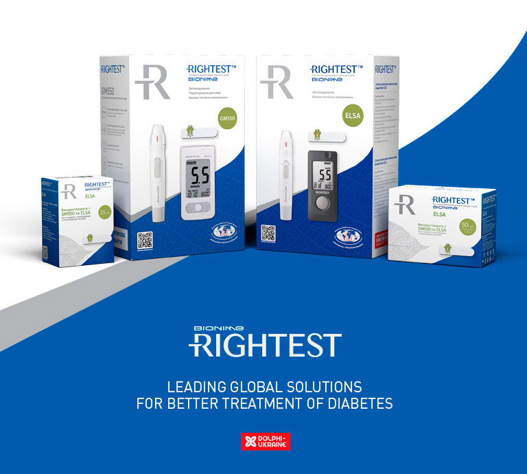 Glucometer Bionime ТМ Rightest GM550