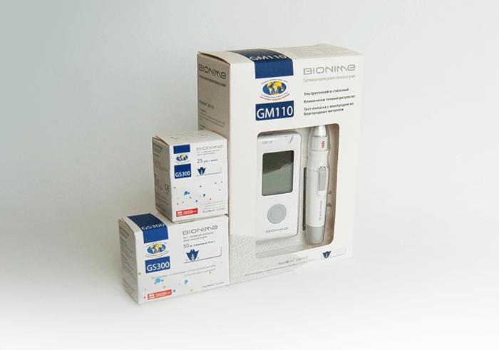 Тест-полоски Bionime ТМ Rightest GS300